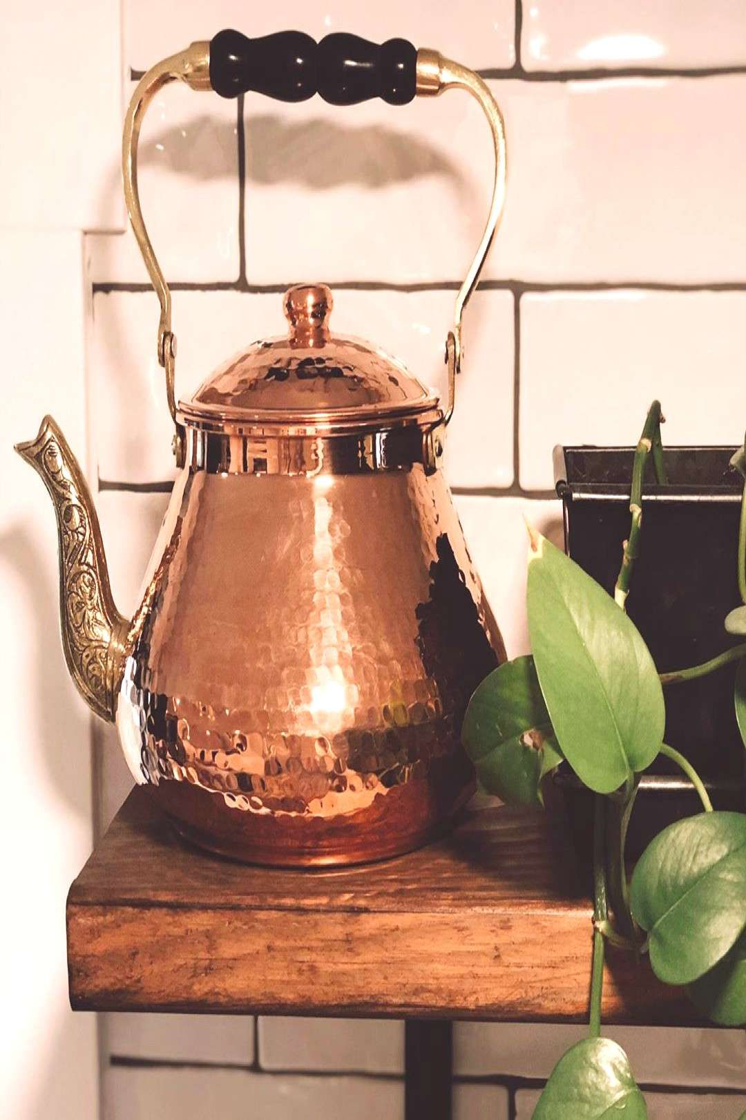 #remember #kitchen #wanted #copper #indoor #plant #more #how #the #tie #and #in #to #co #i Remember how I wanted more copper in the kitchen to tie in the coYou can find Diy kitchen and more on our website.Remember how I wan...