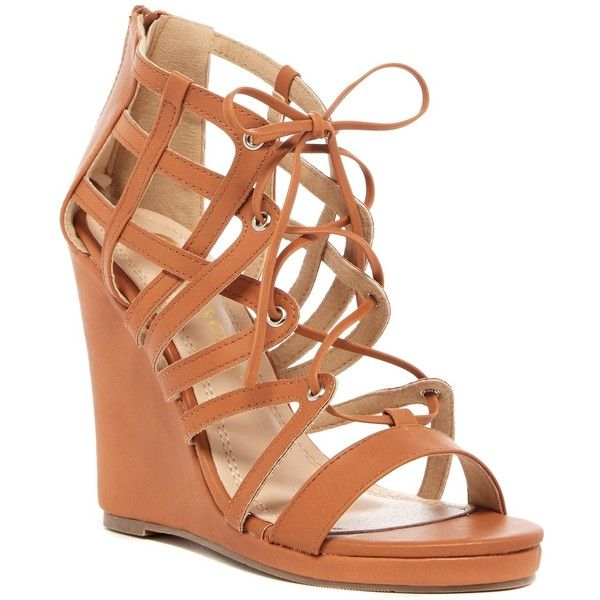 Chloé Caged Lace-Up Sandals
