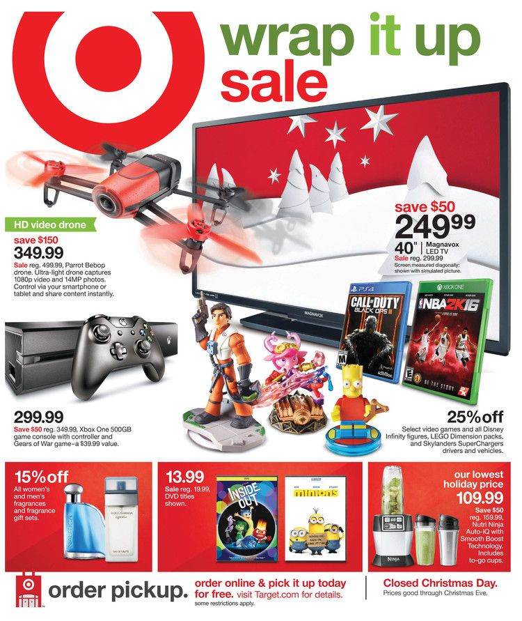 Day After Christmas Sales Ad 2020 Target Weekly Ad Dec 13   19, 2015 | Kaitalog   Weekly ads