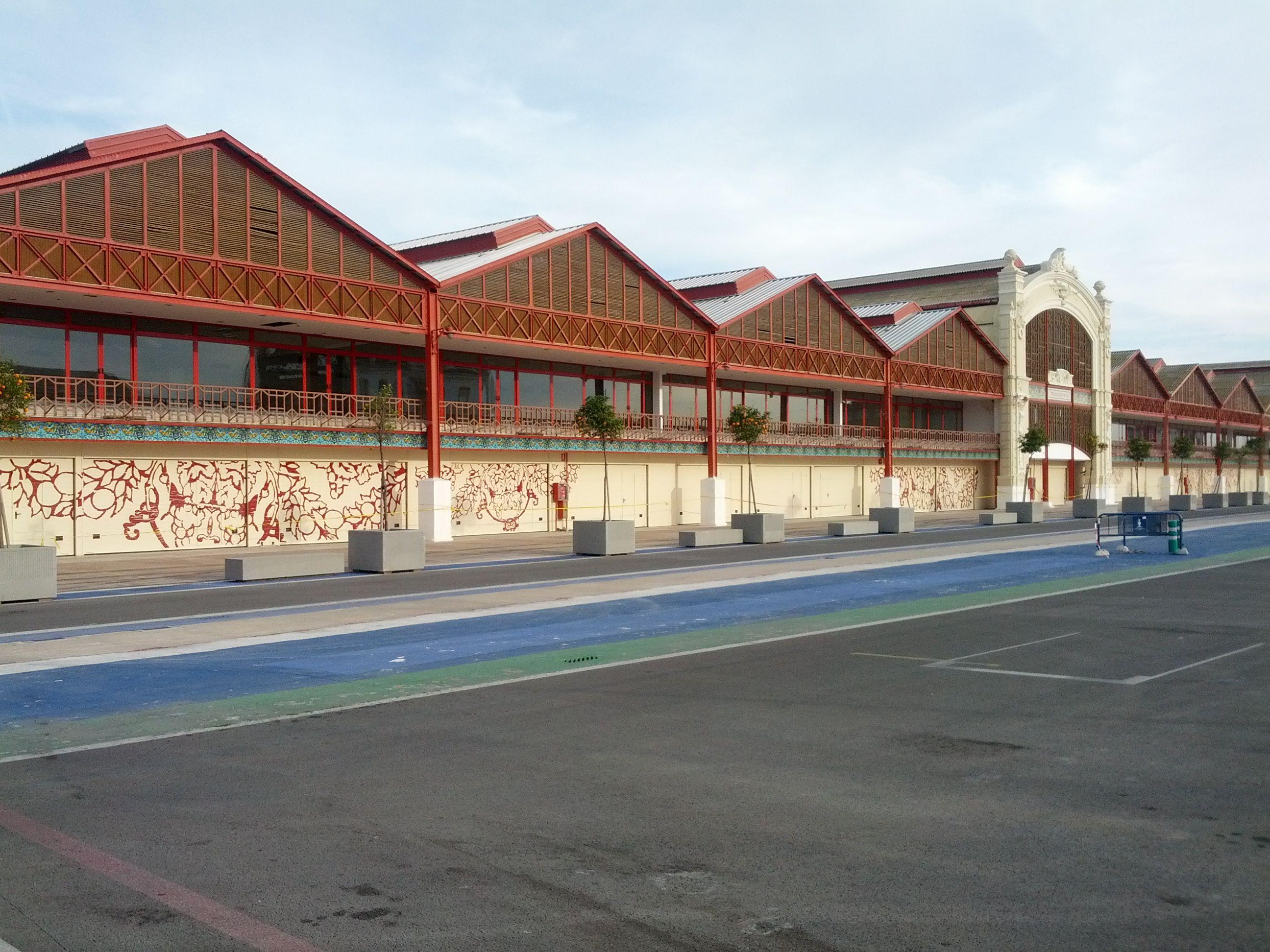 Circuito Urbano Valencia : Box e partenza nel circuito urbano valencia valencia