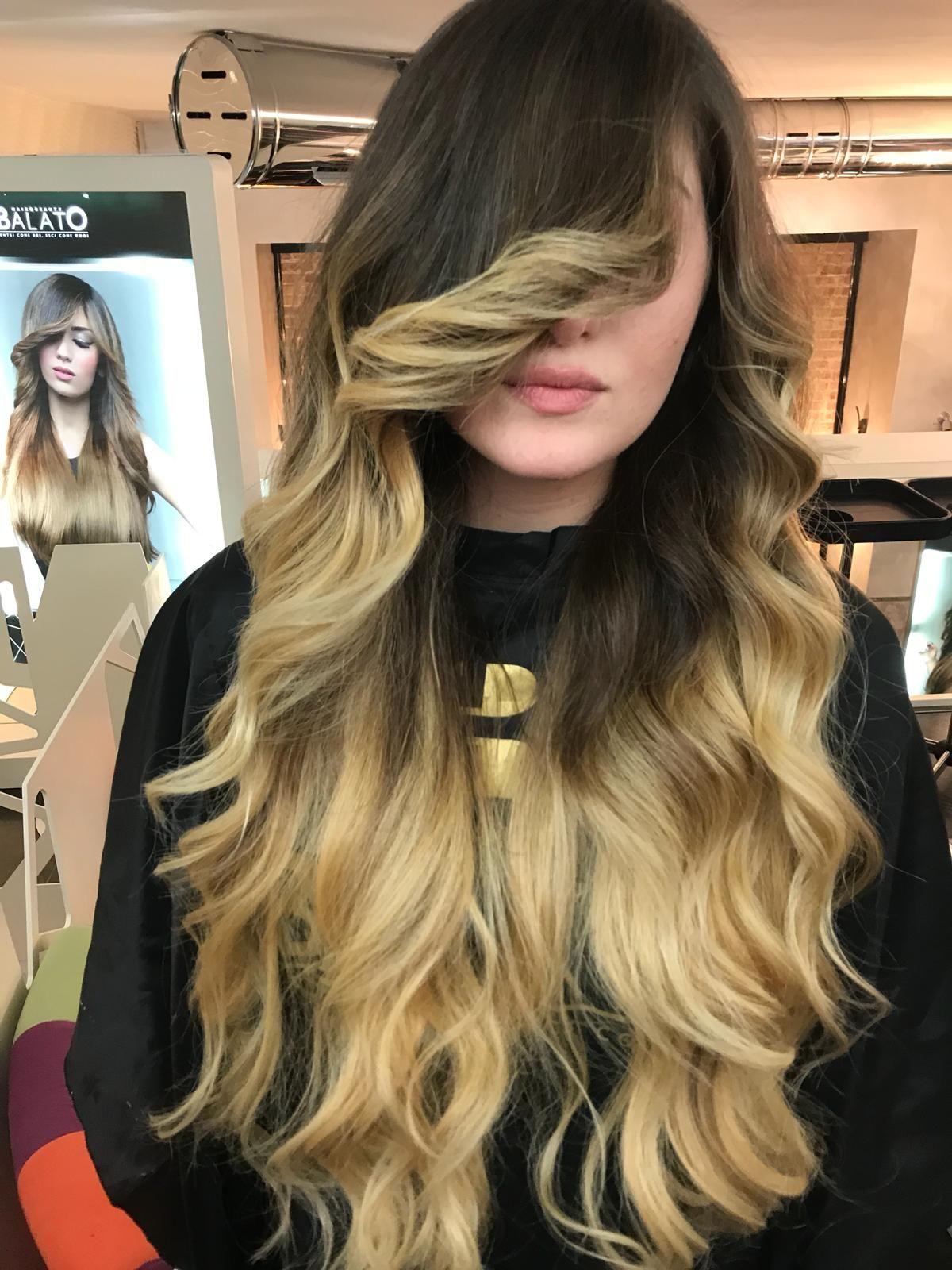 Pin By Balato Hair Makeup On Hair Long Hair Girl Hairstyles With Bangs Hair Styles