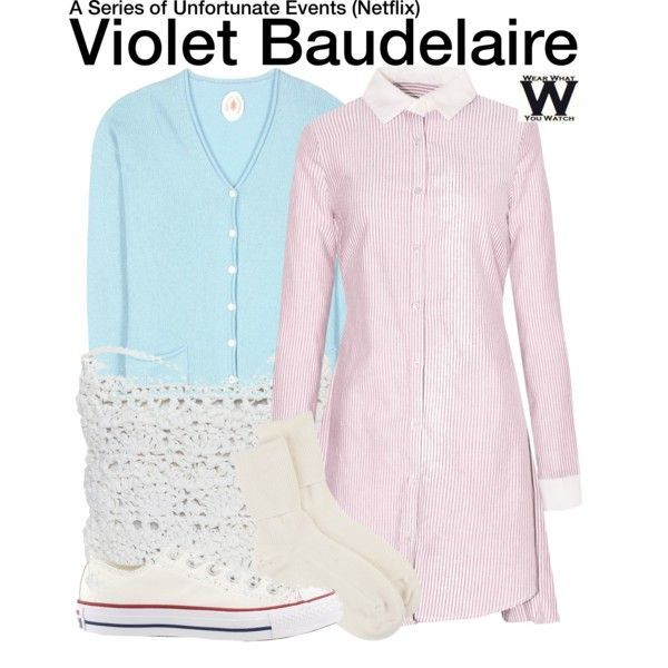 Inspired by Melina Weissman as Violet Baudelaire on ...