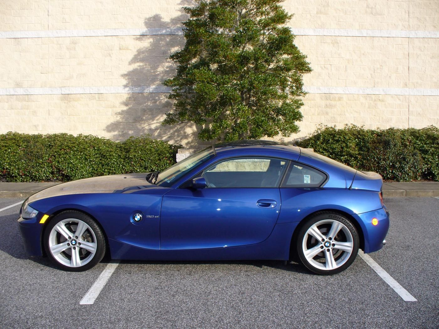 Fs 2007 Bmw Z4 Coupe Montego Blue Bmw 1 Series Coupe