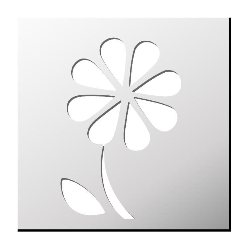 Pochoir Fleur Peinture Sur Verre Stencil Patterns