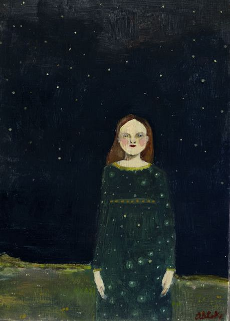 The Night Was a Part of Her by Amanda Blake (contemporary), American -