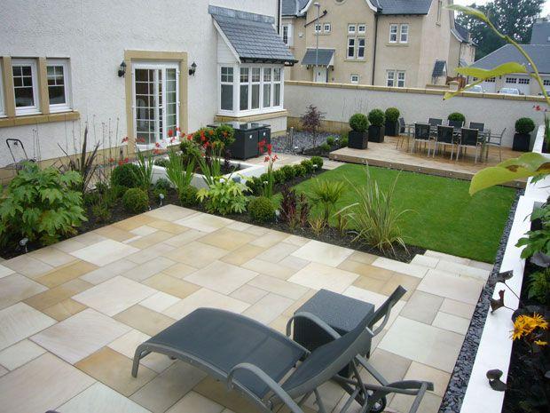 Garden Design In Edinburgh Scotland Craiglockhart Garden Design Family Garden Garden