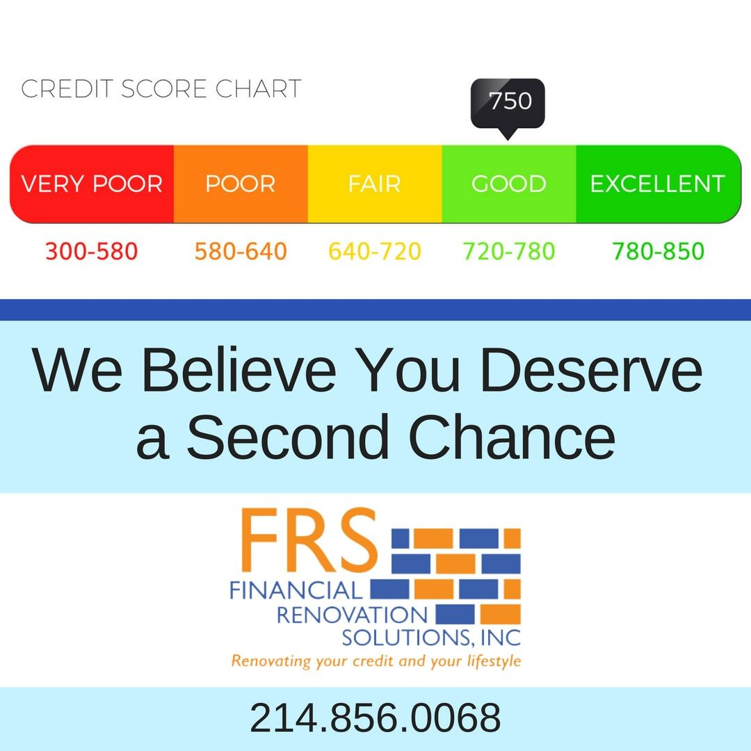 Everyone Deserves A Second Chance When It Comes To Your Credit Do You Believe You Should Get A Second Chance We Credit Score Chart Credit Score Credit Repair