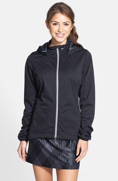 Nike 'Windproof Anorak 2.0' Hooded Golf Jacket available at #Nordstrom