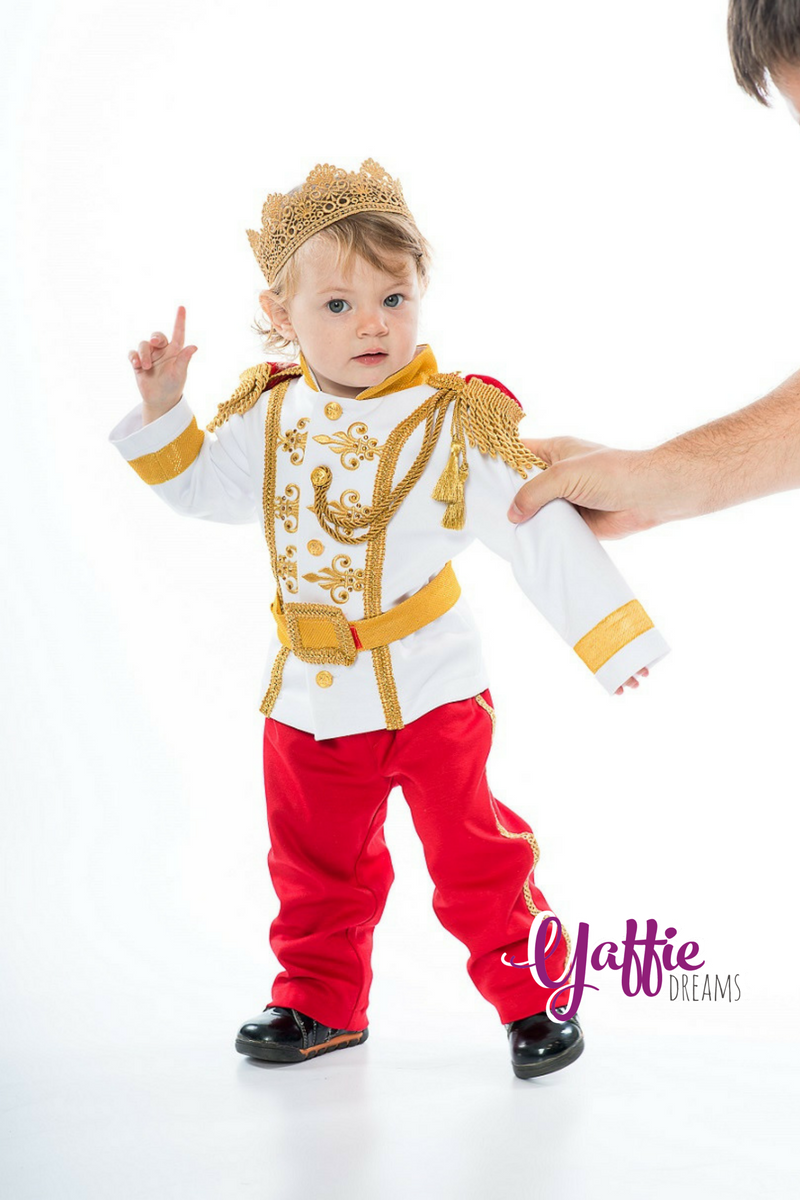 Backstage Yaffie Dreams Prince Charming costume from Cinderella Disney adorable kid ring bearer suit Halloween costume  sc 1 st  Pinterest & Prince Charming costume for baby 5-12 MONTH Disney Cinderella ...