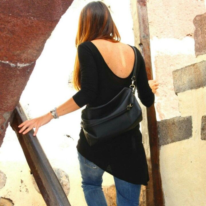 News! Silvie shoulder leather bag... made of super soft Italian leather. www.genuinemyself.com