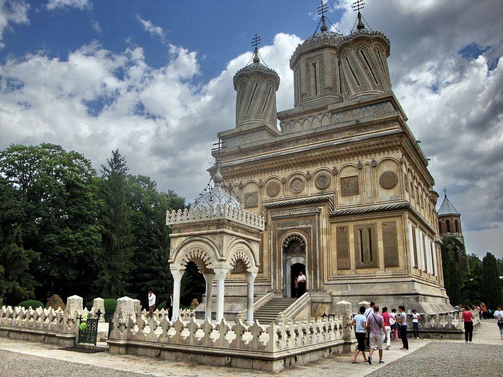 Curtea de Argeș The Argeș Monastery
