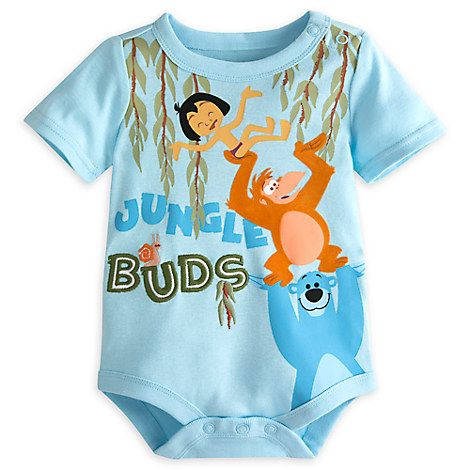 The Jungle Book Disney Cuddly Bodysuit For Baby Baby Stuff