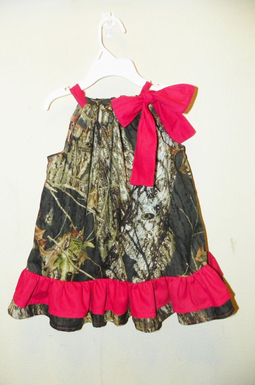 Camo baby girl clothes double ruffle red baby girl