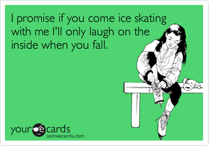Image result for ice skating funny