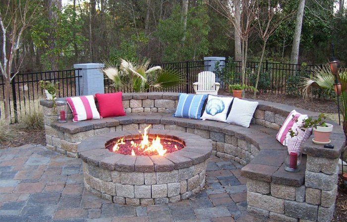feuerstelle bauen eine idee f r genussvolle gartenstunden garten pinterest fire pit. Black Bedroom Furniture Sets. Home Design Ideas