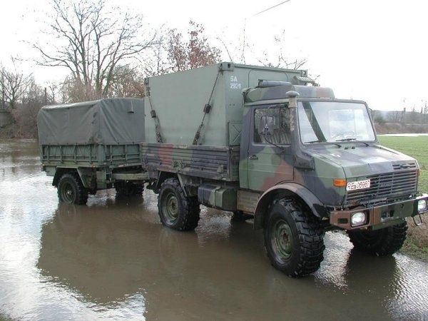 unimog 435 u1300l with trailer military unimog pinterest cars. Black Bedroom Furniture Sets. Home Design Ideas