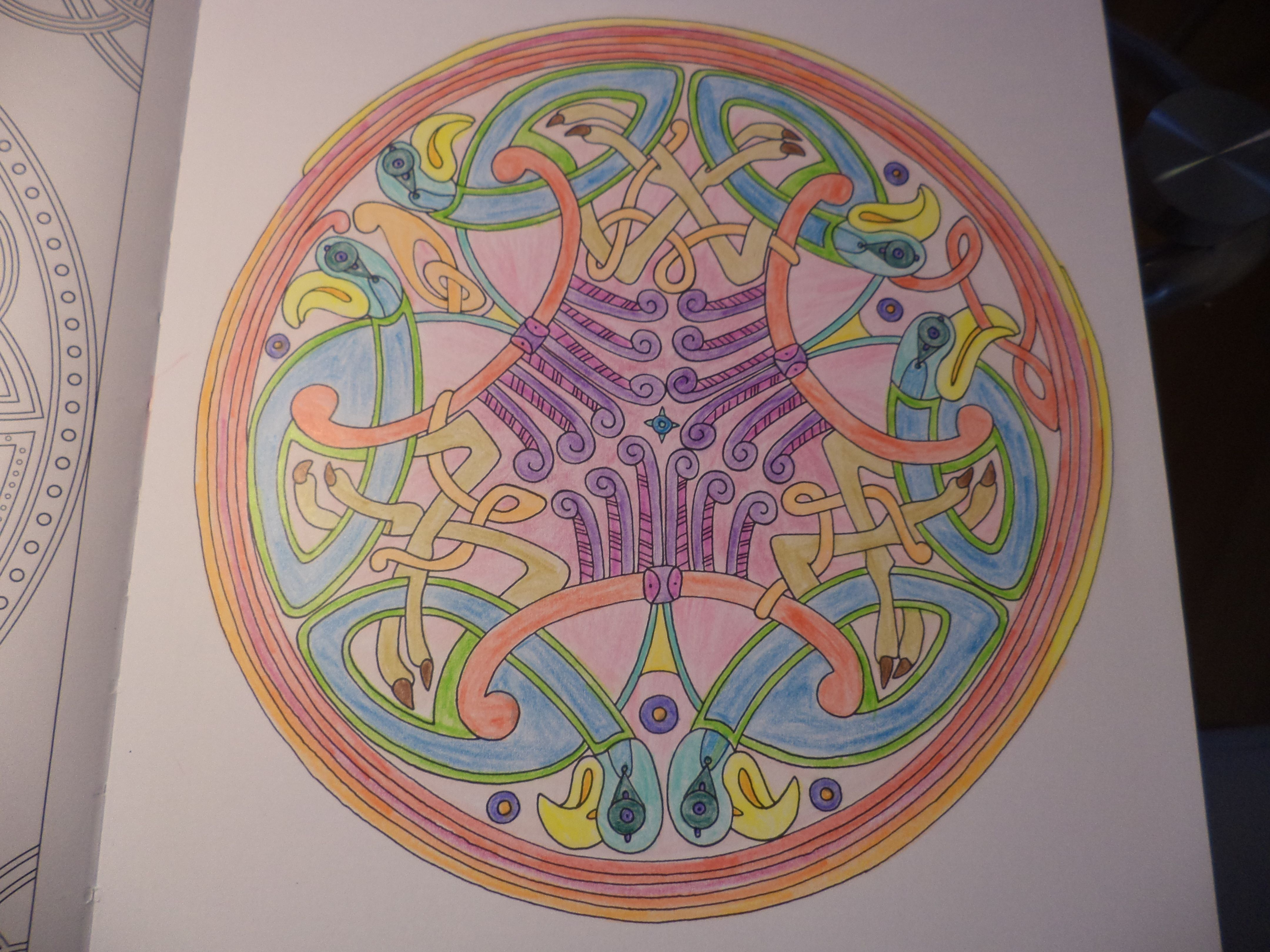 Coloriage Anti Stress Celtique.100 Coloriages Celtique Hachette Mes Coloriages Anti