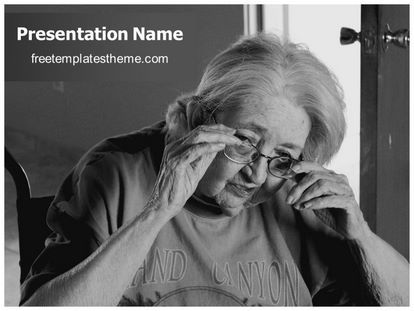 Download free old age parkinson powerpoint template for your download free old age parkinson powerpoint template for your powerpoint presentation this free old age parkinson ppt template is used by many toneelgroepblik Images