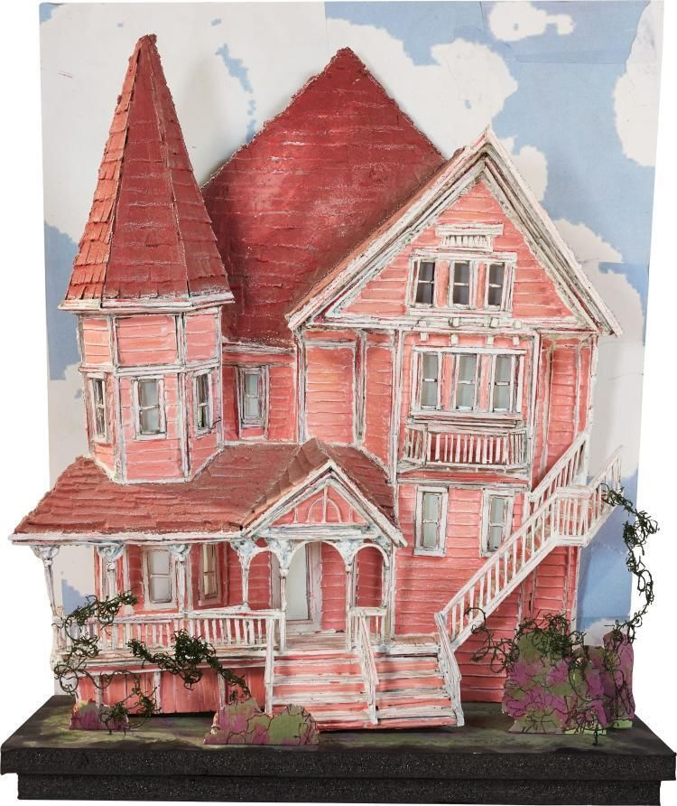 Coraline Other World Pink Palace Apartment Building Ori Coraline Art Coraline Coraline Doll
