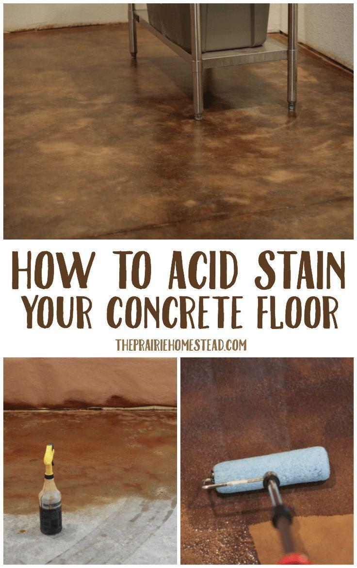 Beautiful Uneven Basement Floor