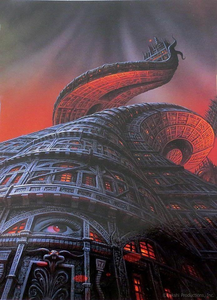 Ralph Bakshi Cool World Concept Art By Barry E Jackson In