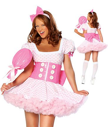 halloween costume candy girl