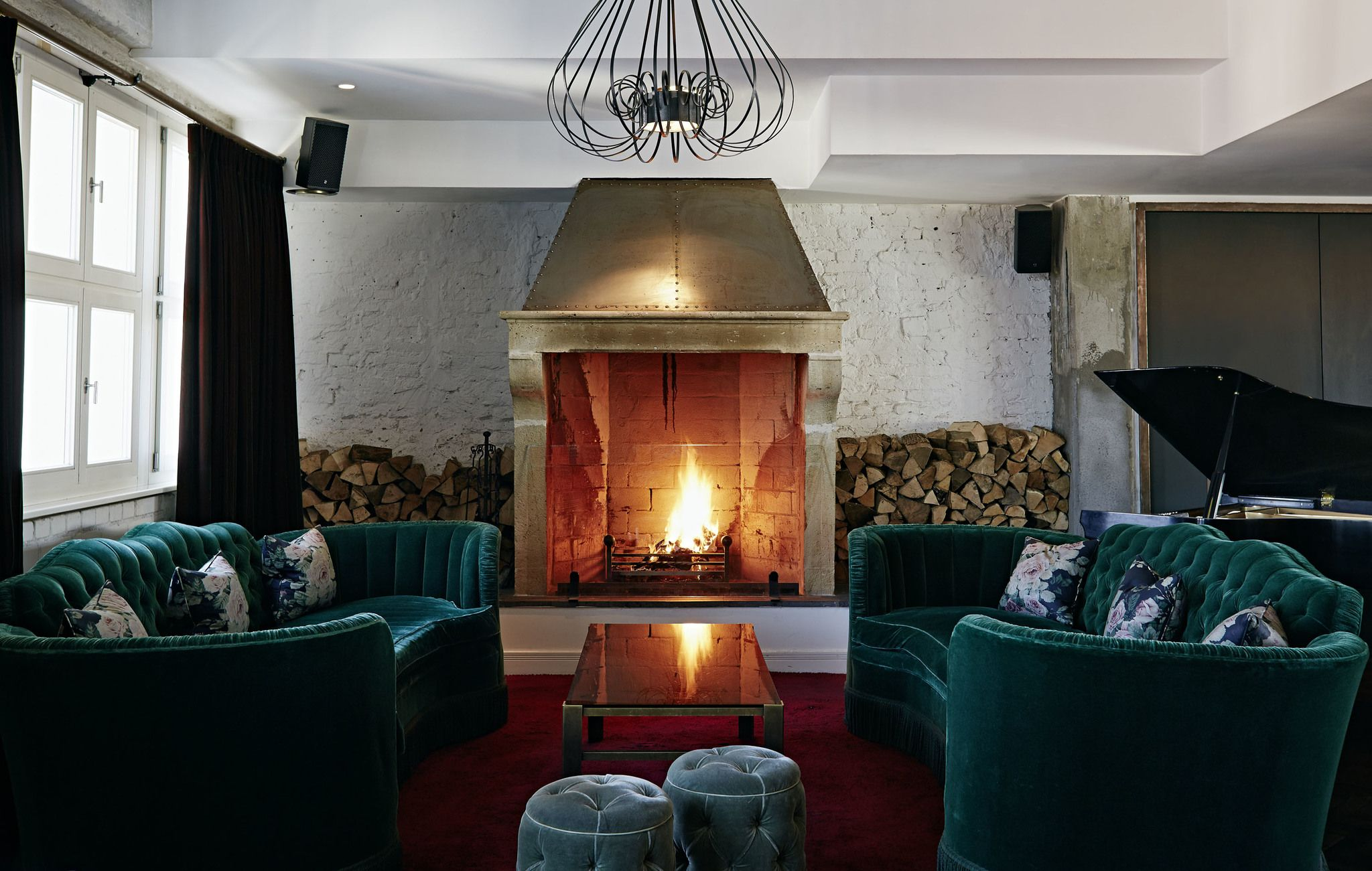 Soho House / Berlin - the firepiece | Interior ...