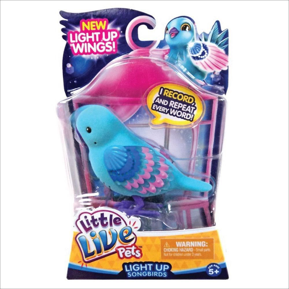 Little Live Pets Bird Light Up Shelly Shimmer