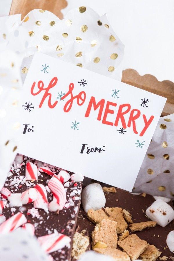 Printable Christmas Gift Tags | Christmas printables, Christmas gift wrapping, and Christmas DIY ideas from @cydconverse