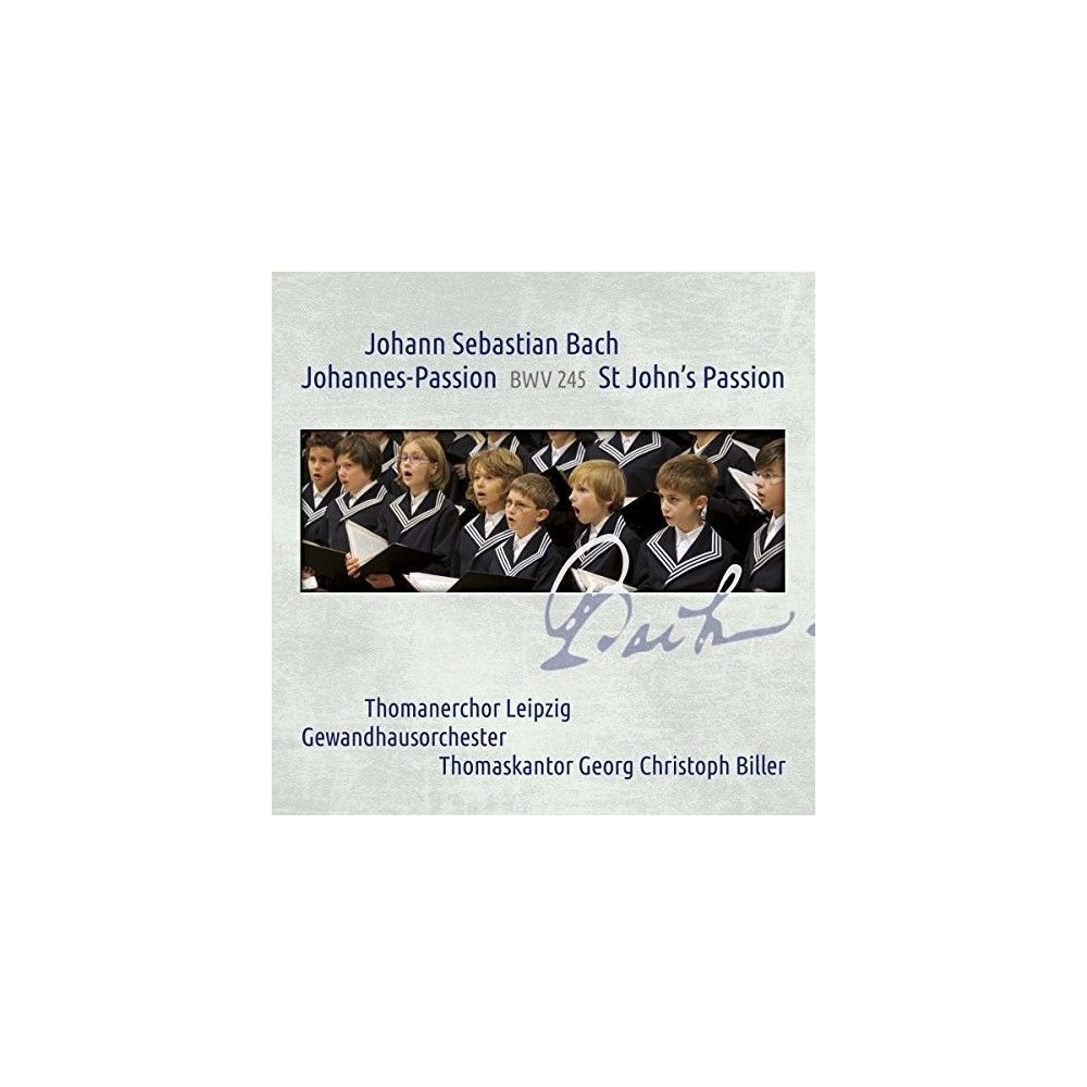 J.S. Bach & Leipzig & Gewandhausorchester & Holton - Johann Sebastian Bach: St John's Passion Bwv 245