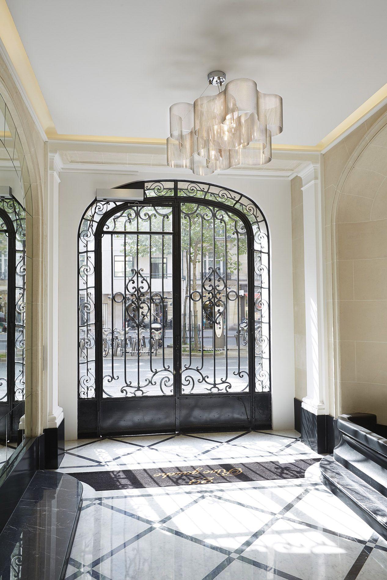 Luminaire Pour Couloir D Entrée luminaire suspension nuage n°27b | immeuble parisien