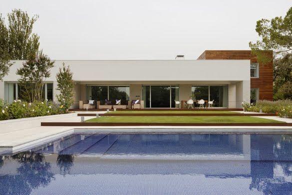 casas modernas de que estan hechas