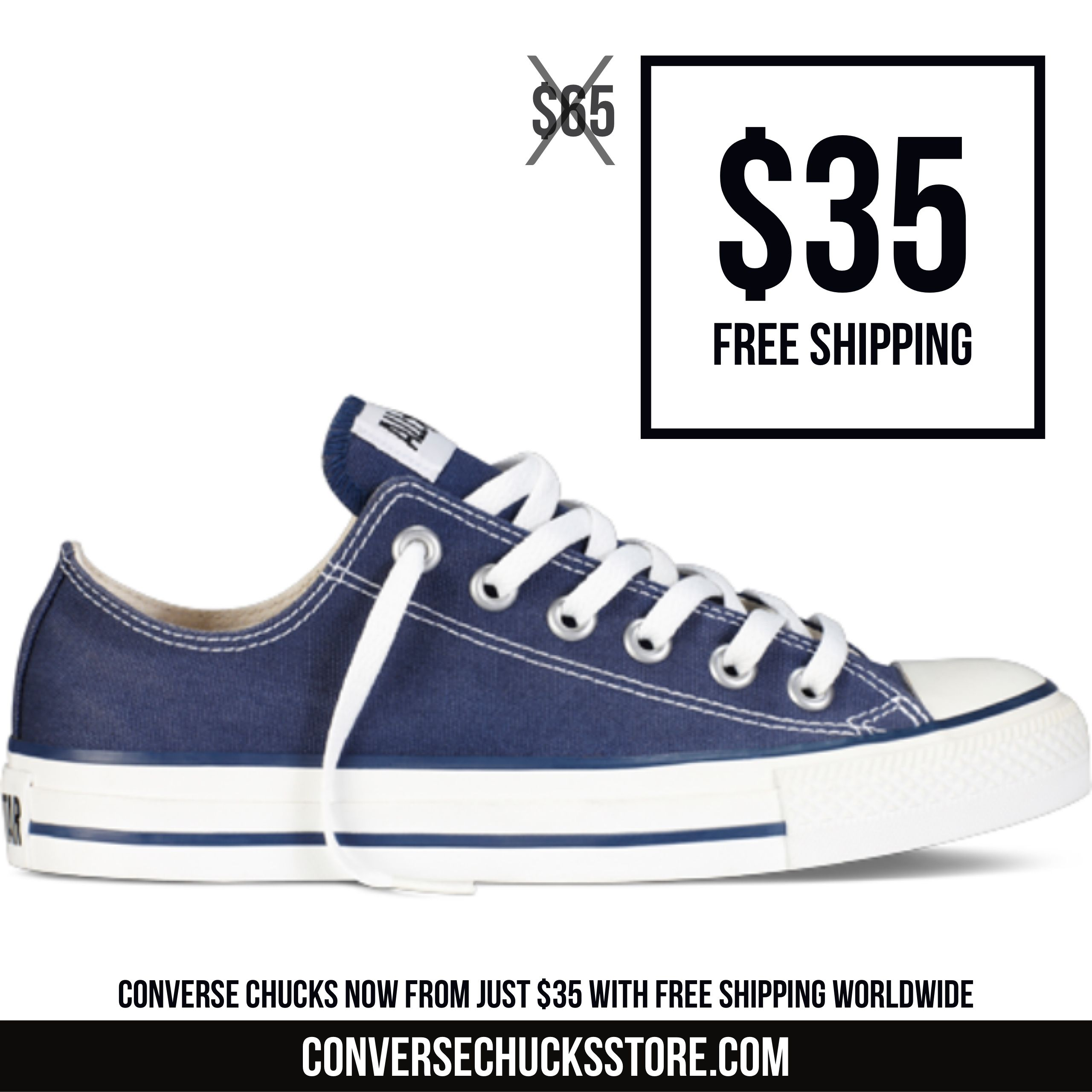 ad7d2c739d42 Converse Chuck Taylors from  35 with free worldwide shipping. Order now on  our website