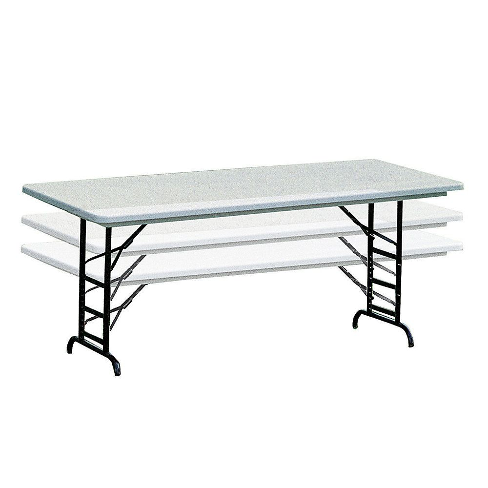 Molded Plastic Top Folding Table