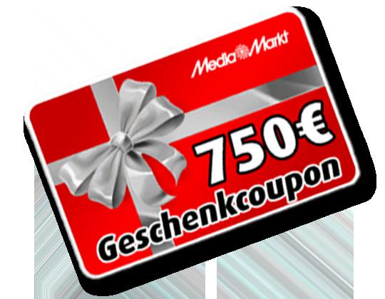 Media Markt 750 € Gutschein