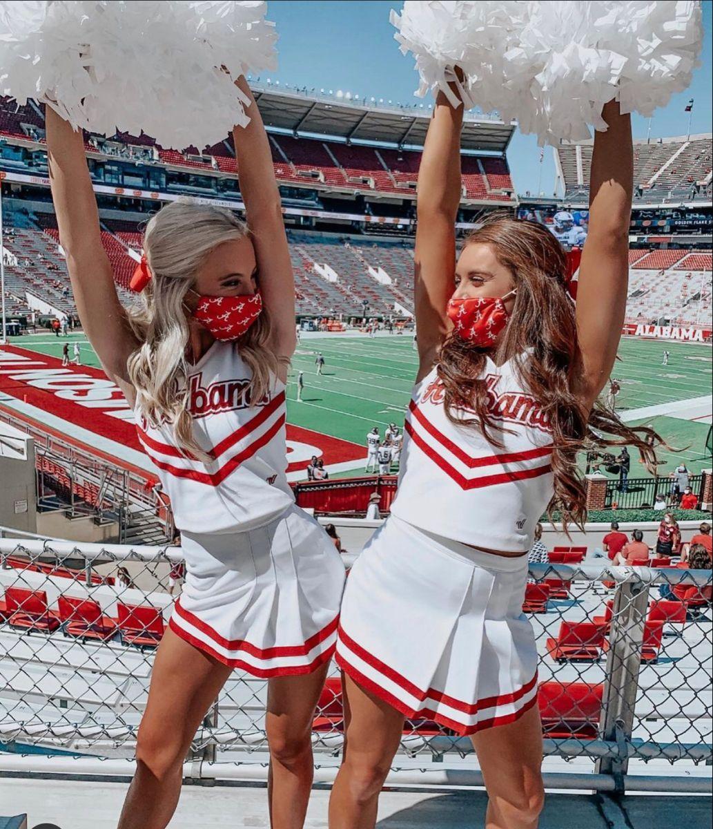 High School Cheerleading Photos | Cheer picture poses