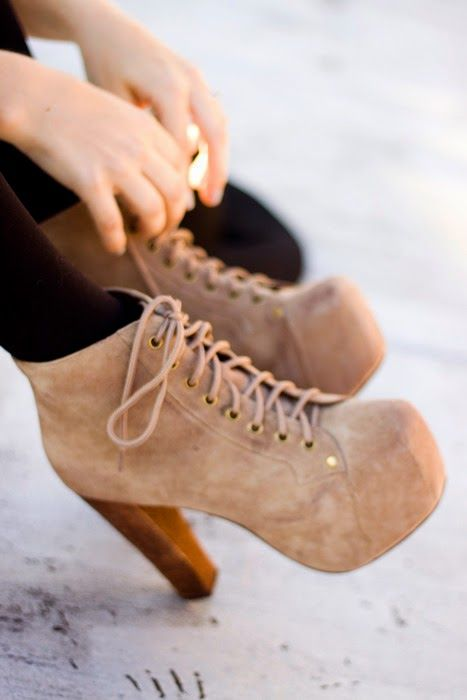 Suede Jeffrey Campbell Litas. Latest shoes trends. - Shoesmar - Latest Shoes  Trends