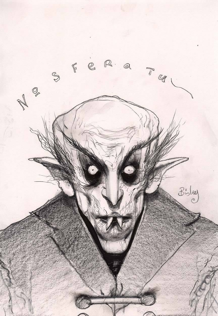 Nosferatu the art of simon bisley simon bisley pop culture art sketch inspiration