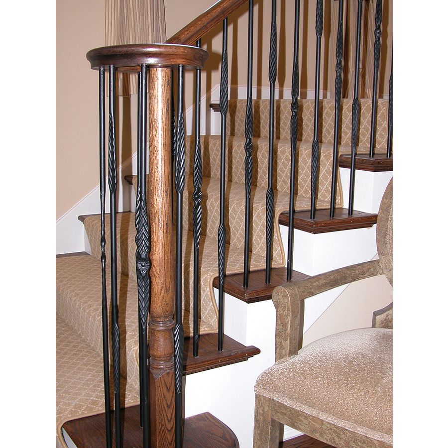 Best Feather Style Rustic Iron Balusters Perfect Iron 400 x 300