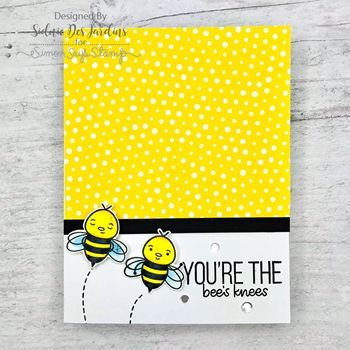 Simon Says Stamp Card Kit of The Month JULY 2019 BEE YOURSELF ck0719 #cardkit