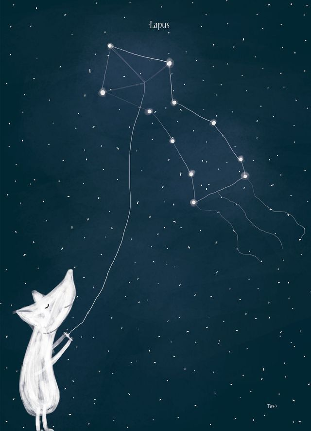Mouse And Constellation