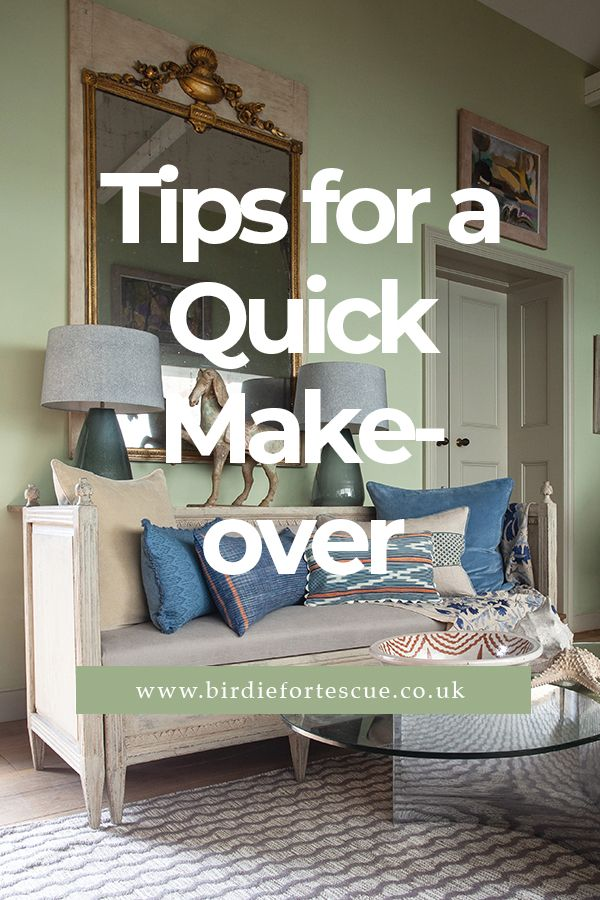 Discover the easiest and simplest tips and tricks on how to give your home a quick re-fresh // #birdiefortescue #interiorblog #homedecorblog #interiortips #homemakeover #homerefresh #lightingtips #shelves #shelvetips #art #artworktips