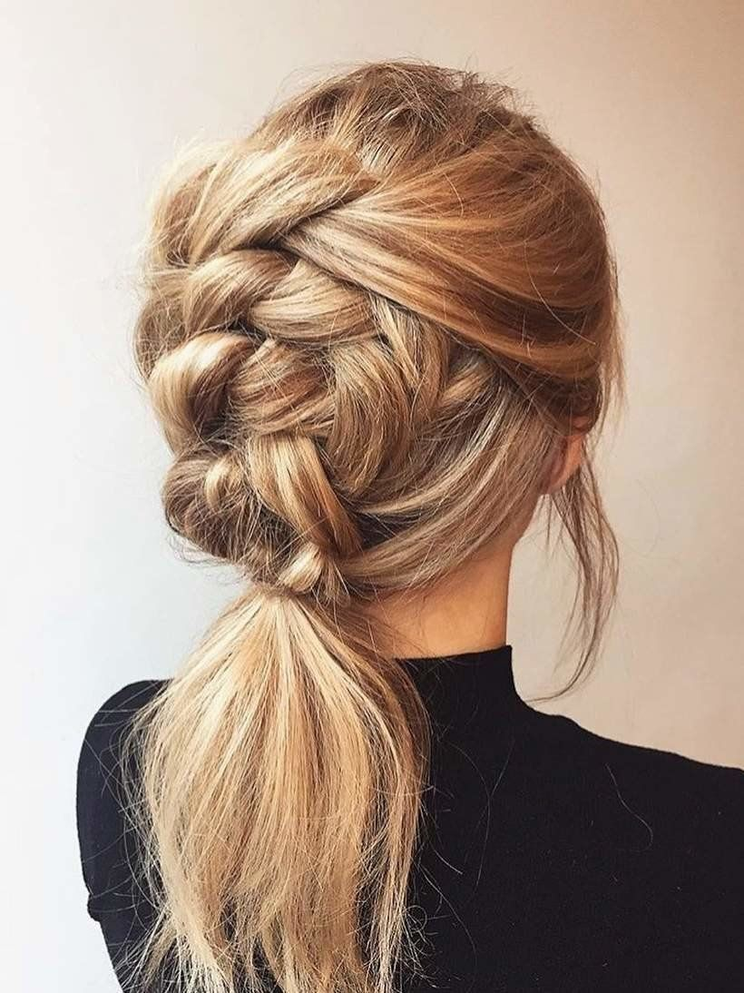 7 Braided Hairstyles That People Are Loving On Pinterest Cool Braid Hairstyles Long Hair Styles Thick Hair Styles