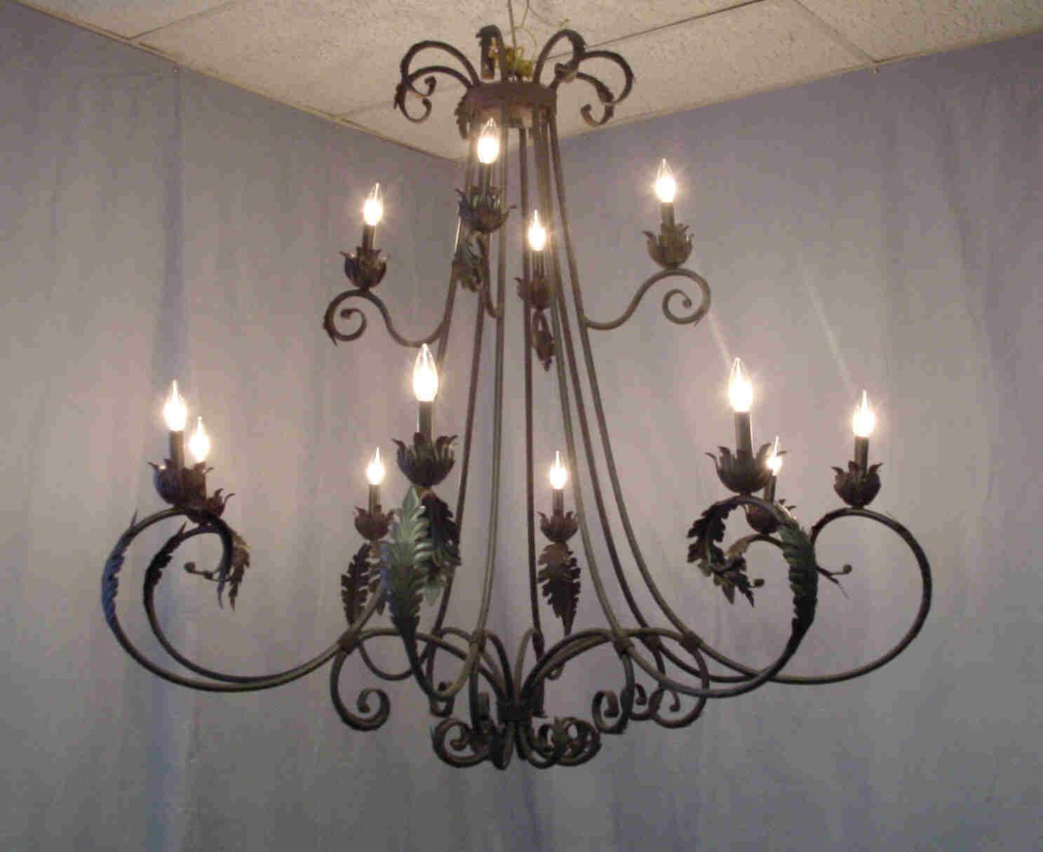 Would love to have a wrought iron chandelier over my dining room would love to have a wrought iron chandelier over my dining room table d arubaitofo Images