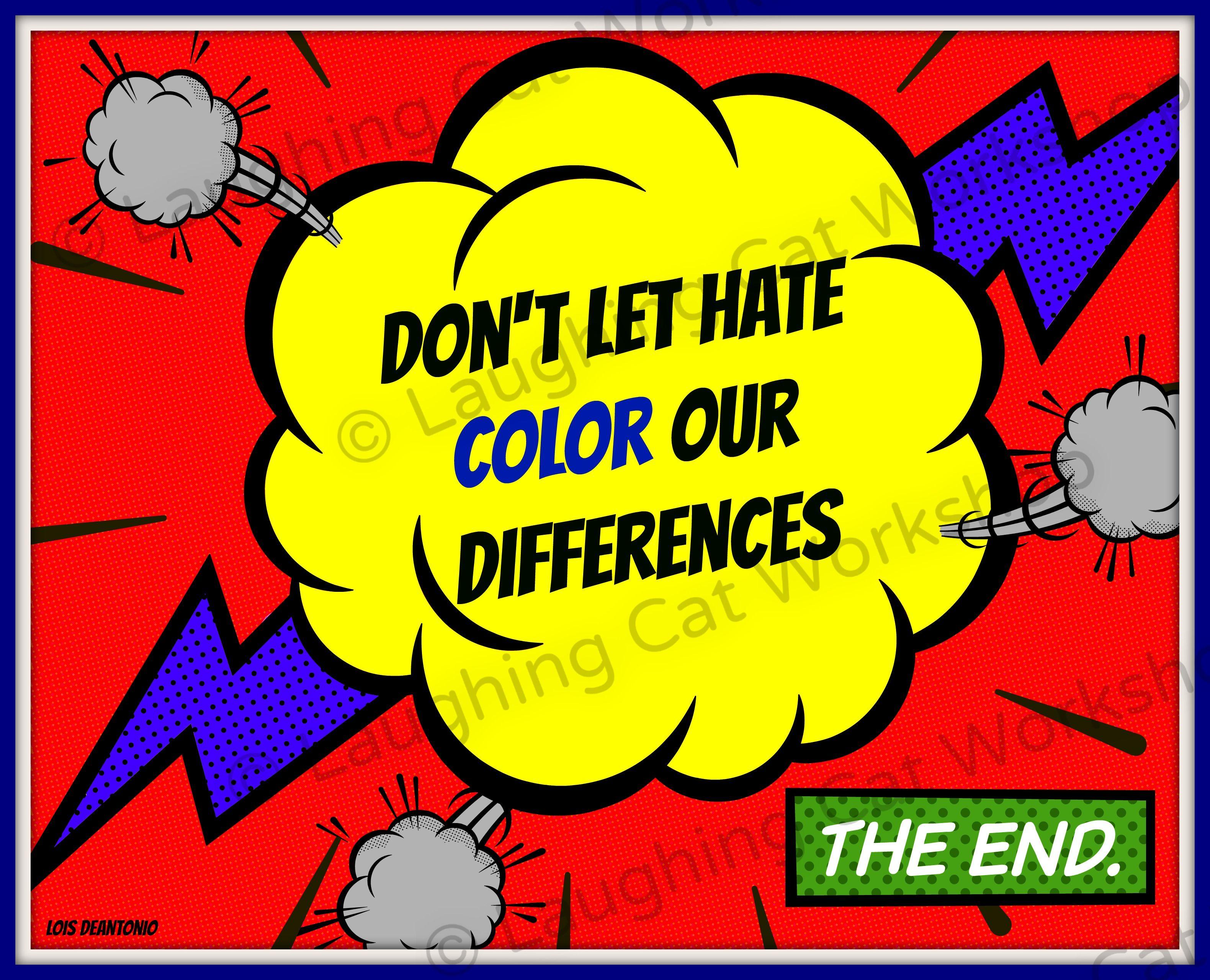 Inspirational quote for kids teens comic wall art school nurse ...
