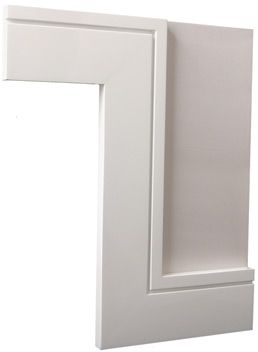 Classic architraves modern architectural and decorative for Contemporary trim profiles