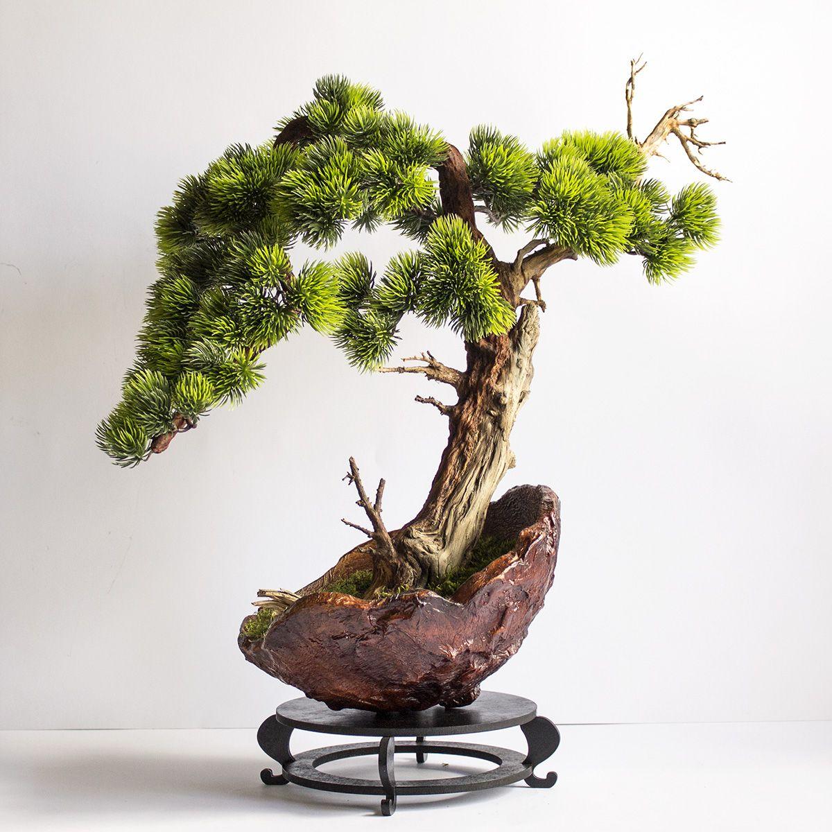 Artificial Bonsai Pine Tree Bonsai Landscape Design Tree