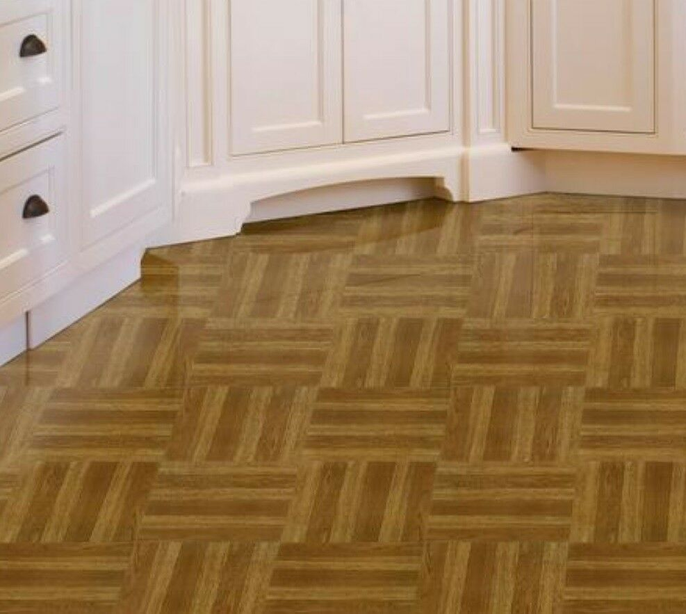 Vinyl Floor Tiles Self Adhesive Peel And Stick Plank Wood Grain Flooring 12x12 786641354626 Ebay In 2020 Vinyl Flooring Flooring Tile Floor