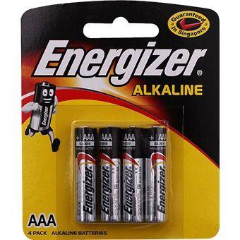 Energizer Aaa Battery 4 Pack Energizer Alkaline Battery Aaa Batteries