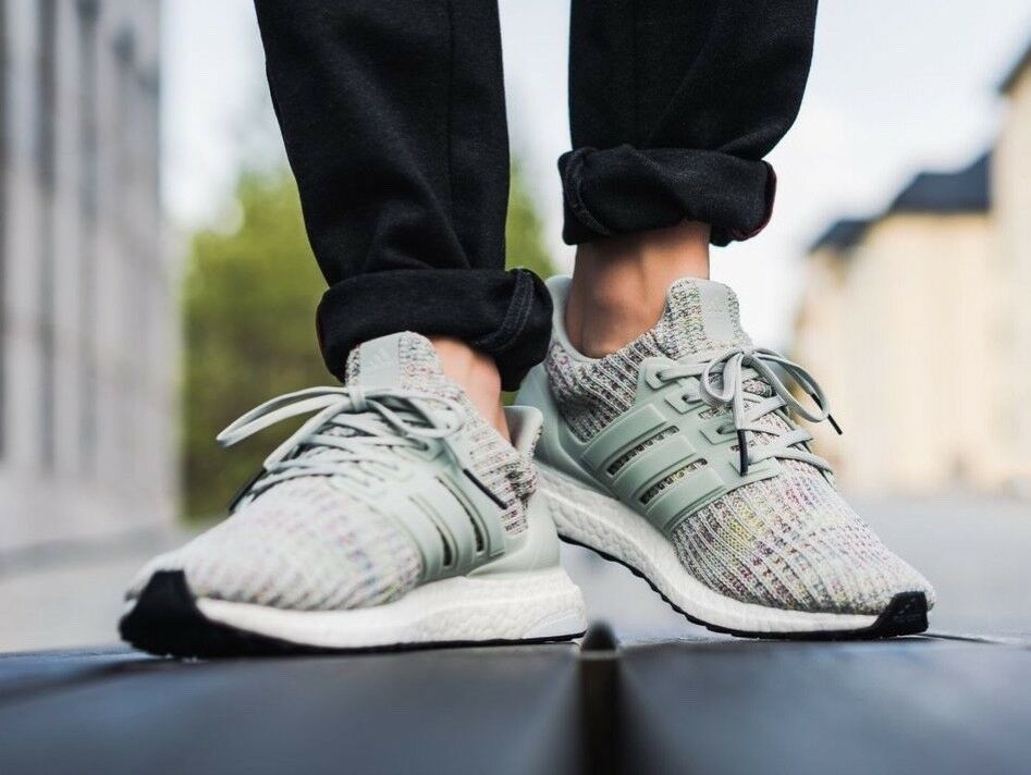 a2ccfbaa6efb adidas ultra boost 4.0 Ash Silver all sizes #fashion #clothing ...